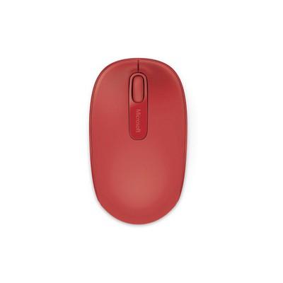 Microsoft Mobile 1850 Kablosuz Kırmızı Optik Mouse