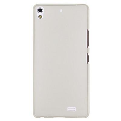 Microsonic Transparent Soft General Mobile Discovery Air Kılıf Beyaz Cep Telefonu Kılıfı