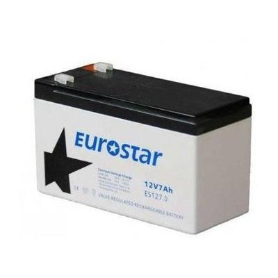 Eurostar 12v 7ah Tam Bakımsız Kuru Tıp Aku Bileşen Aksesuarı