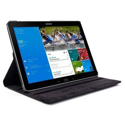 Microsonic 360 Rotating Stand Deri Samsung Galaxy Note Pro 12.2'' Sm-p900 Kılıf Siyah Tablet Kılıfı