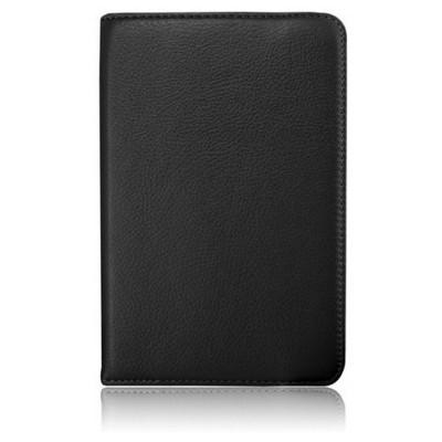 Microsonic 360 Rotating Stand Deri 7'' Dell Venue 7 Tablet Kılıf Siyah Tablet Kılıfı