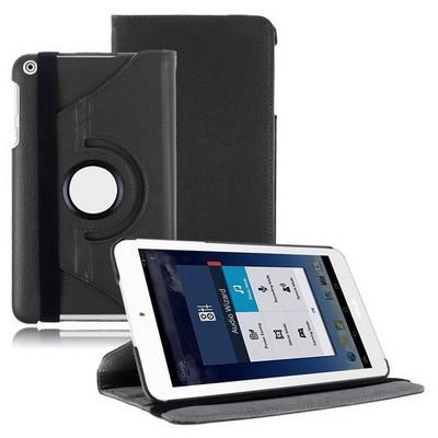 Microsonic 360 Rotating Stand Deri 8'' Asus Memo Pad 8 Me181c Tablet Kılıf Siyah Tablet Kılıfı