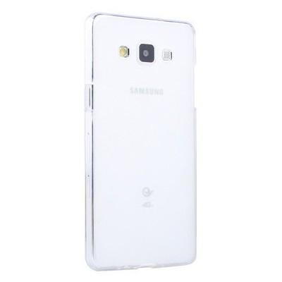 Microsonic Transparent Soft Samsung Galaxy A7 Kılıf Beyaz Cep Telefonu Kılıfı