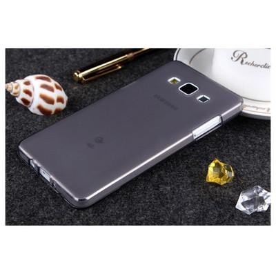 Microsonic Transparent Soft Samsung Galaxy A7 Kılıf Siyah Cep Telefonu Kılıfı