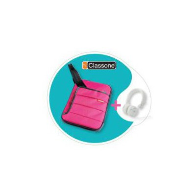 "Mila Tbl-u106 Classone Colorful Serisi Tablet Case 7-10,1 "" Uyumlu (pembe) + Mila Kula Tablet Kılıfı"