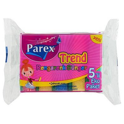 Parex Bulaşık Süngeri 5 Adet Ekonomik Paket Bez / Sünger