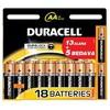 Duracell Kalem Pil AA Alkalin 13+5 18 Adet Pil / Şarj Cihazı