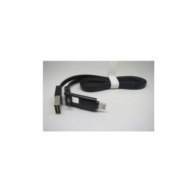 Inova Invusb04 Iphone 5/6 Ve Micro Usb Samsung/lg/htc Micro Usb Dual Şarj Data Kablosu Adaptör Kablosu