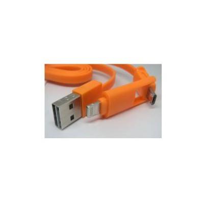 Inova Invusb08 Iphone 5/6/6s Micro Usb Samsung/lg/htc Micro Usb Dual Şarj Data Kablosu Adaptör Kablosu