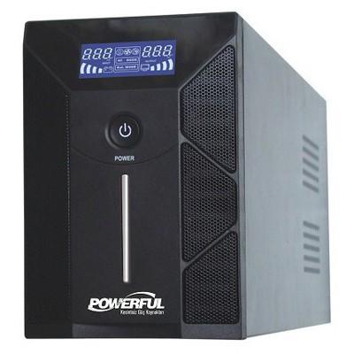 Powerful Pld-3000 3000va Lcd Panelline Interactive Kesintisiz Güç Kaynağı