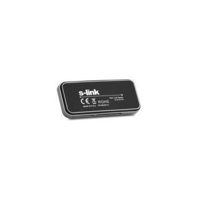 S-Link Slp-300 Usb 2.0 Ince Tasarım Siyah Kart Okuyucu