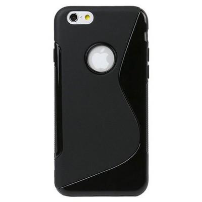 Microsonic Iphone 6 Plus (5.5'') S-line Soft Kılıf Siyah Cep Telefonu Kılıfı
