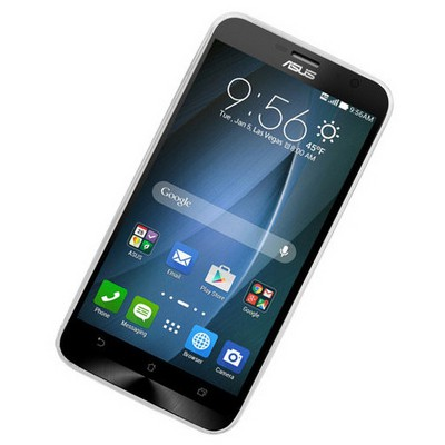 Microsonic Transparent Soft Asus Zenfone 2 (5.5'') Kılıf Siyah Cep Telefonu Kılıfı