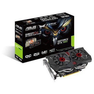 Asus GeForce GTX 960 2G OC DirectCU2 Strix Ekran Kartı
