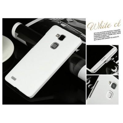 Microsonic Premium Slim Huawei Ascend Mate 7 Kılıf Beyaz Cep Telefonu Kılıfı