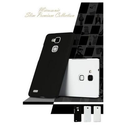 Microsonic Premium Slim Huawei Ascend Mate 7 Kılıf Siyah Cep Telefonu Kılıfı