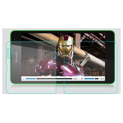 Microsonic Temperli Cam Ekran Koruyucu Mirosoft Lumia 535 Film Ekran Koruyucu Film
