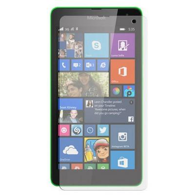 Microsonic Ultra Şeffaf Ekran Koruyucu Microsoft Lumia 535 Film Ekran Koruyucu Film