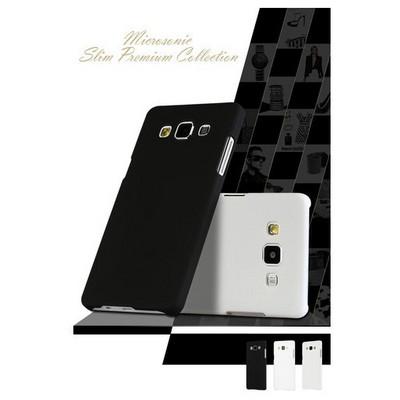 Microsonic Premium Slim Samsung Galaxy A7 Kılıf Beyaz Cep Telefonu Kılıfı