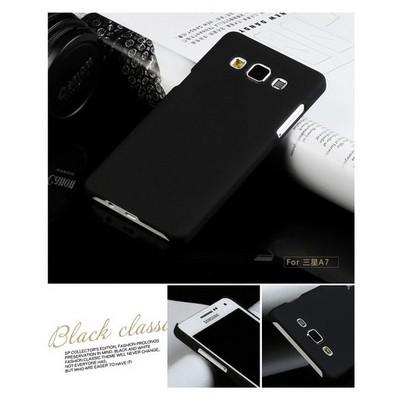 Microsonic Premium Slim Samsung Galaxy A7 Kılıf Siyah Cep Telefonu Kılıfı