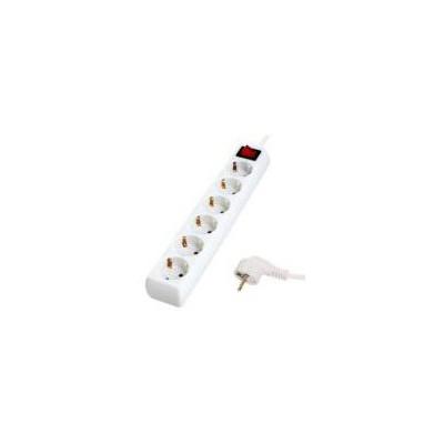 S-Link Spg8-6-15 1.5m 6'lı Akım Korumalı Beyaz Priz