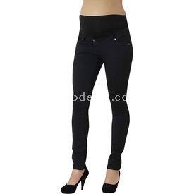 Annema Anne Ve Mama Hamile Gab Pantalon Siyah 46 Pantolon, Şort, Tayt