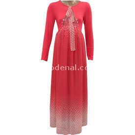 livaa-hamile-uzun-sifon-elbise-mercan-xl