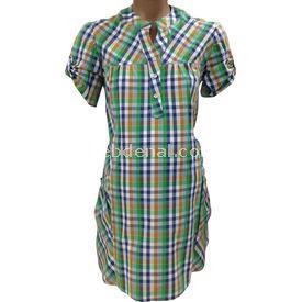 Hell Klar Roba Pileli Cepli Gömlek Yeşil 40 Gömlek, Bluz, Tunik