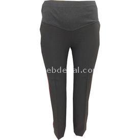 Trndy Trendy Kumaş Pantolon Büyük Gri 48 Pantolon, Şort, Tayt