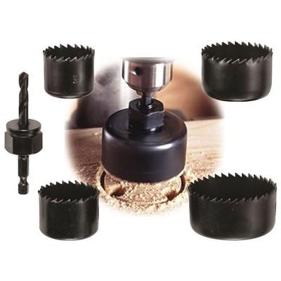 Black & Decker A71120 5 Parça Delik Açma Panç Seti Hırdavat Ürünü