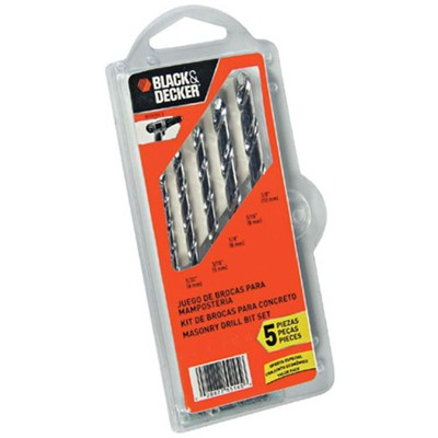 Black & Decker Bd0090cs 5 Parça Beton Matkap Uç Seti Hırdavat Ürünü