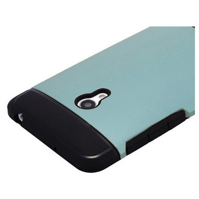 Microsonic Slim Fit Dual Layer Armor Asus Zenfone 5 Kılıf Mavi Cep Telefonu Kılıfı