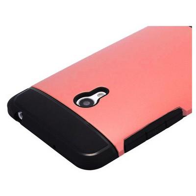 Microsonic Slim Fit Dual Layer Armor Asus Zenfone 5 Kılıf Kırmızı Cep Telefonu Kılıfı