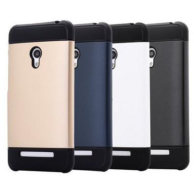 Microsonic Slim Fit Dual Layer Armor Asus Zenfone 5 Kılıf Beyaz Cep Telefonu Kılıfı