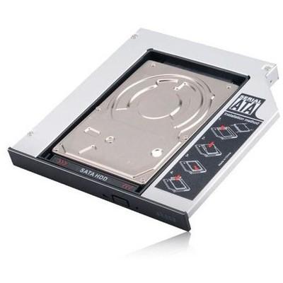 "Akasa Ak-oa2ssa-kıt N.stor-bundle Kıt Notebook Optik Yuvasıyla Uyumlu 2.5""sata Hdd Kutu Harici Disk Kutusu"