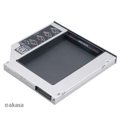 "Akasa AK-OA2SSA-KIT N.Stor-Bundle KIT Notebook Optik Yuvasıyla Uyumlu 2.5""SATA HDD Kutu Harici Disk Kutusu"