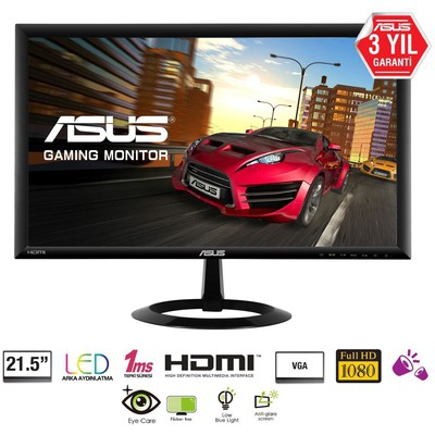 "Asus VX228H 21.5"" 1ms Full HD Monitör"