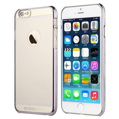 Microsonic Totu Design Breeze Series Iphone 6 Plus Kılıf Silver Cep Telefonu Kılıfı