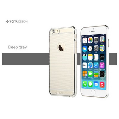 Microsonic Totu Design Breeze Series Iphone 6 Plus Kılıf Grey Cep Telefonu Kılıfı