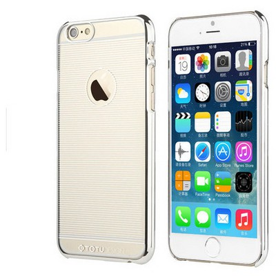 Microsonic Totu Design Breeze Series Iphone 6 Kılıf Grey Cep Telefonu Kılıfı