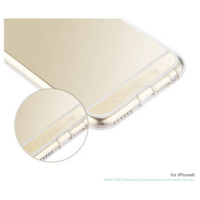 Microsonic Totu Design Soft Series Transparant Thin Iphone 6 Plus Kılıf Clear Cep Telefonu Kılıfı