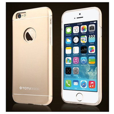 Microsonic Totu Design Jaeger Series Iphone 6 Plus Kılıf Gold Cep Telefonu Kılıfı