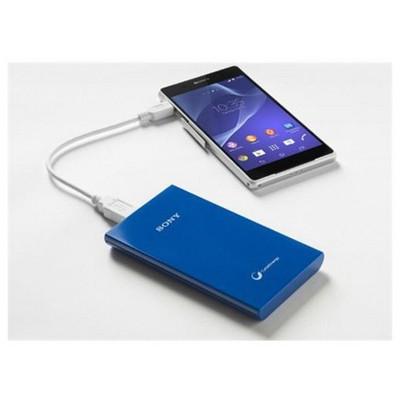 Sony CP-V5L 5000 MAH TAŞINABİLİR Mavi ŞARJ CİHAZI Taşınabilir Şarj Cihazı