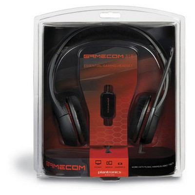 Plantronics  Gamecom 318 Pc Headset E&a