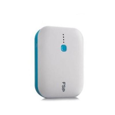 FSP Fspb078 2*usb 7800 Mah 2.4a + 1.5a Powerbank Taşınabilir Pil Beyaz Taşınabilir Şarj Cihazı
