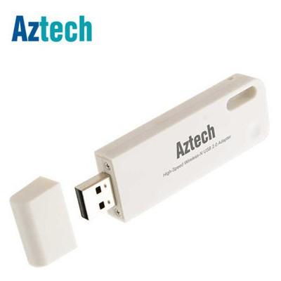 Aztech Wl578 Wrl 300mbps Wps Usb Adaptör Anten / Ağ Adaptörü