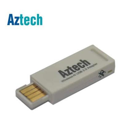 Aztech Wl572 150mbps Wireless-n Usb Adaptör (tr) 122 Anten / Ağ Adaptörü