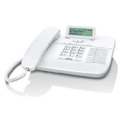 Gigaset Da710-whıte Kablolu Masaüstü Telefon Caller Id 100 Rehber Beyaz Kablolu Telefon