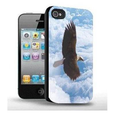 I-Techgear X-172, Iphone 4/4s Uyumlu Üç Boyutlu (3d) Arka Kapak - Uçan Kartal Cep Telefonu Kılıfı