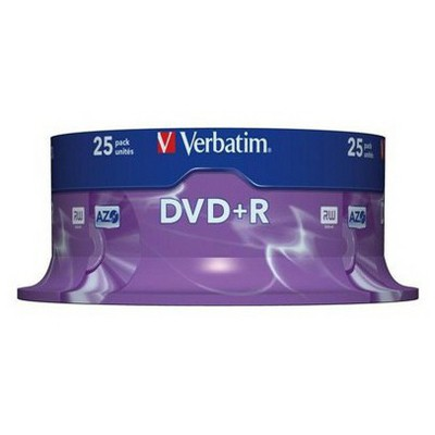 Verbatim Azo Dvd+r 4,7gb 16x 120min 25'li Cakebox CD/DVD